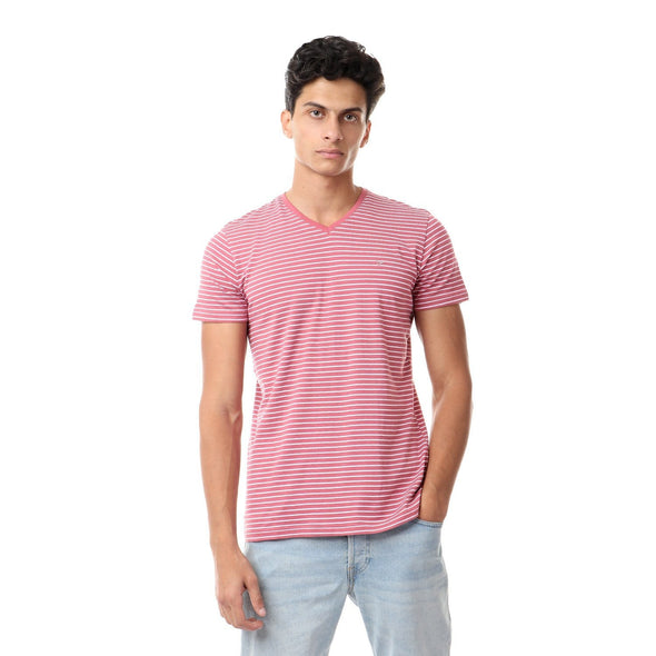 Casual Striped T-shirt - Dockland