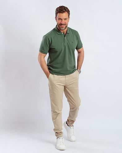 Classic Fit Polo Shirt-Myrtle - Dockland
