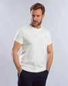 Plain Short-sleeve O-neck Body -ECRU - Dockland