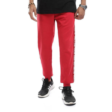 Jogger sweatpants-wine - Dockland