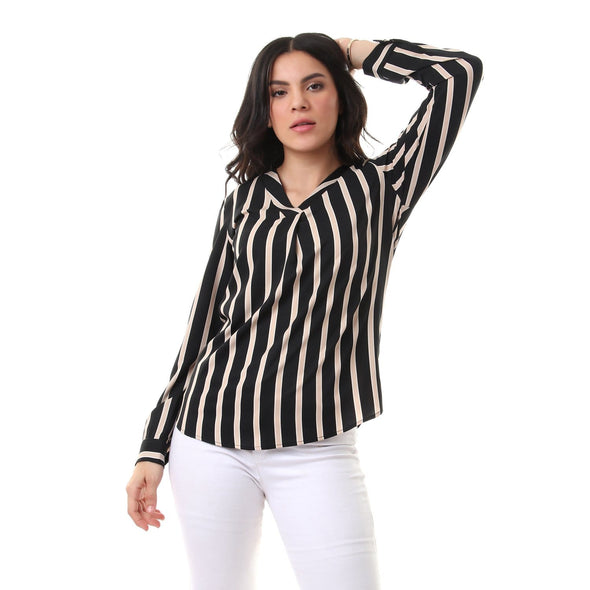 Striped Blouse بلوزة مقلمة - Dockland