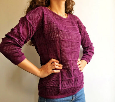 Light Knitted Top بلوفر تريكو خفيف - Dockland