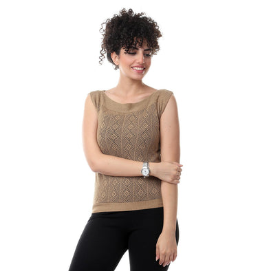 Knitted Vest سترة تريكو - Dockland