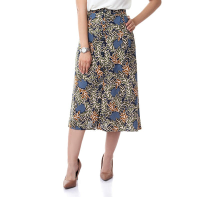 Printed Skirt - Dockland