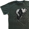 Short Sleeve Graphic Panda Print T-Shirt - Dockland