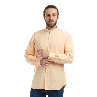 Plain Classic Slim-fit Shirt - Dockland