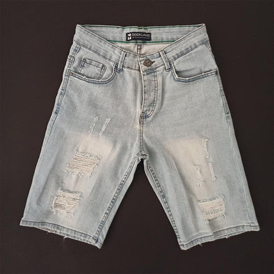 Ripped denim Short - Dockland