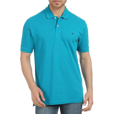 Classic Fit Petrole Polo Shirt - Dockland