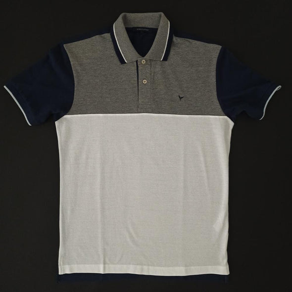 Short Sleeves Colour Block Polo shirt - Dockland
