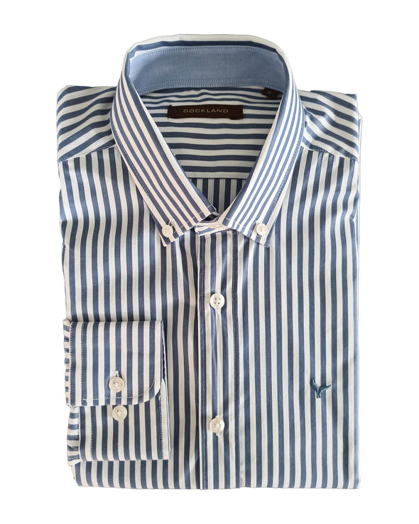 Long Sleeve Striped Shirt - Dockland