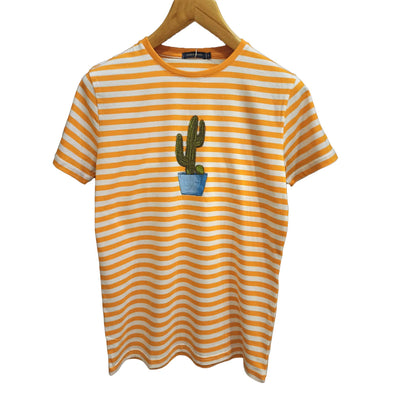 Striped short Sleeve T-shirt - Dockland