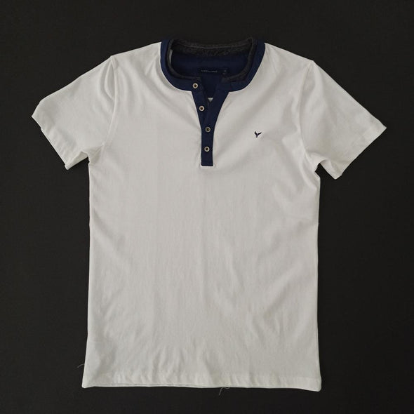 Short sleeves Collar Buttoned T-Shirt - Dockland
