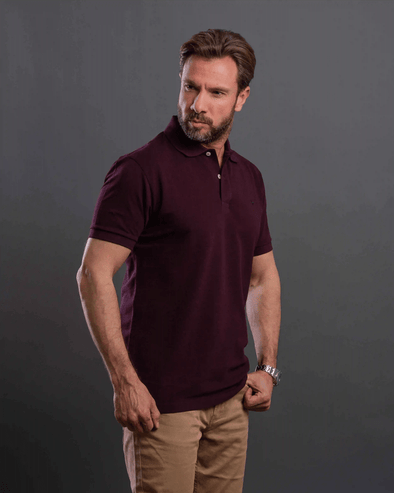 Classic Fit Black Polo Shirt - Dockland
