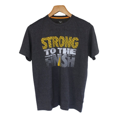 Short Sleeve Strong To The Finish Graphic T-Shirt - Dockland