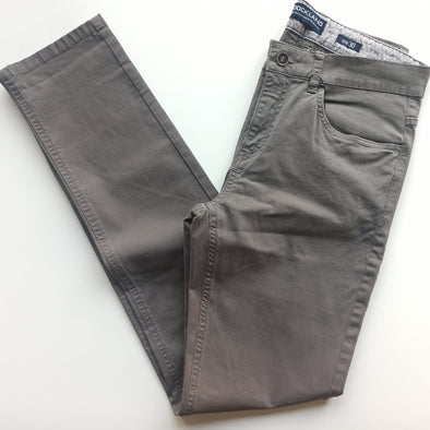 5-pocket Gaberdine-Grey - Dockland