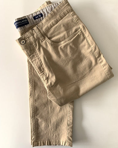 5-pocket Gaberdine-Light Beige - Dockland