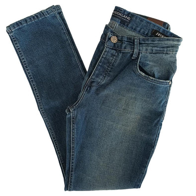 Light Wash Slim Fit Jeans - Blue Jeans - Dockland