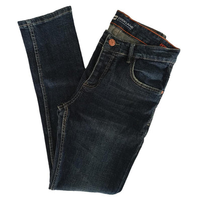 Slim Fit Casual Light Wash Jeans -Renz - Dockland