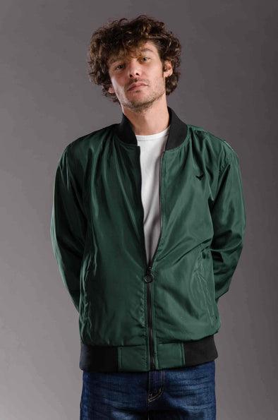 lightweight Bomber waterproof jacket-Olive - Dockland
