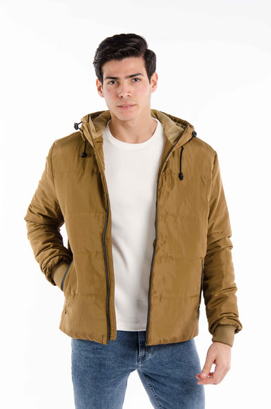 lightweight Bomber waterproof jacket-Mustard - Dockland