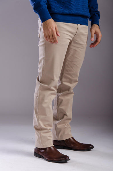 5-pocket Gabardine-Light Beige - Dockland