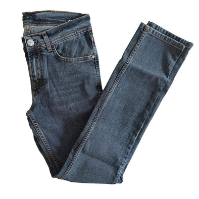 Slim Fit Jeans-Medium Wash - Dockland