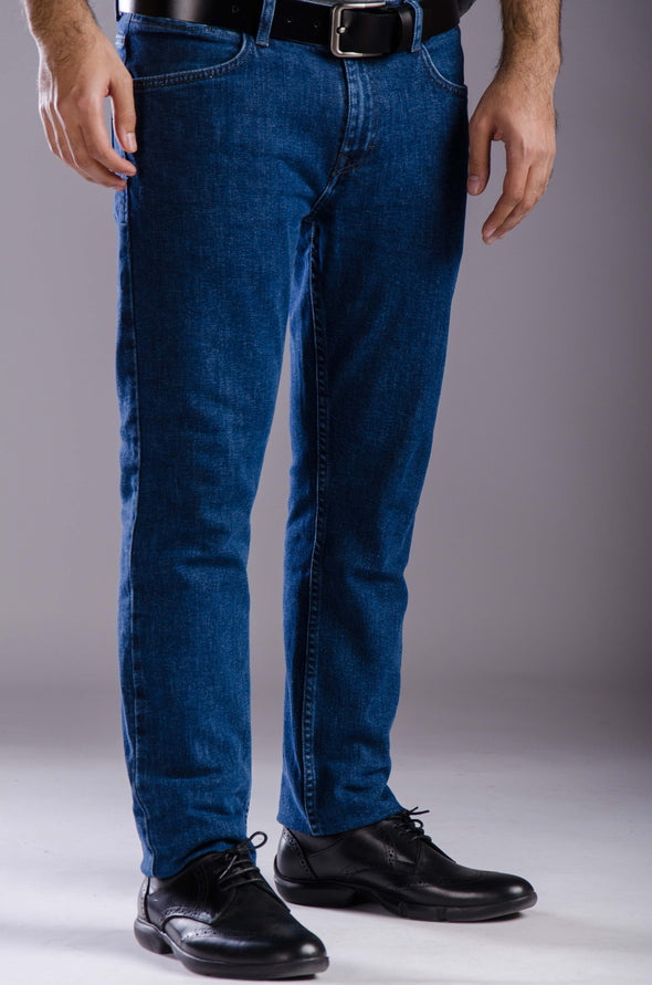 Slim fitted jeans-Dark wash - Dockland