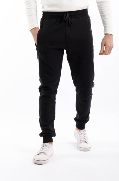 Slim-fit jogger Pants-Black - Dockland
