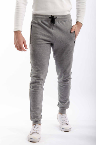 Slim-fit jogger Pants-Dark Grey - Dockland