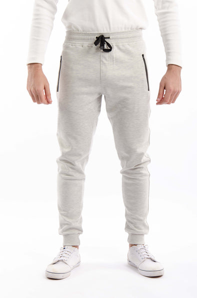 Slim-fit jogger Pants-Light Grey - Dockland