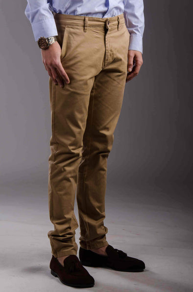Chinos Zip fly-Bige - Dockland