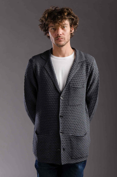 Textured Relaxed-fit Cardigan - Entrasid - Dockland