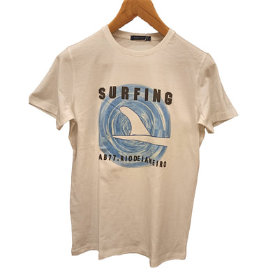 T-Shirt Surf Board Graphic Print - Dockland