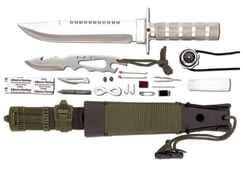 The Ultimate 12 Pc Tactical Survival Knife