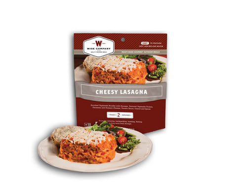Cook in the Pouch- Cheesy Lasagna (6 Pack)