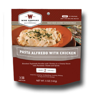 Cook in the Pouch- Pasta Alfredo (6 Pack)