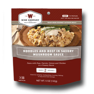 Cook in the Pouch- Savory Stroganoff (6 Pack)