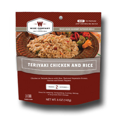 Cook in the Pouch- Teriyaki & Rice (6 Pack)