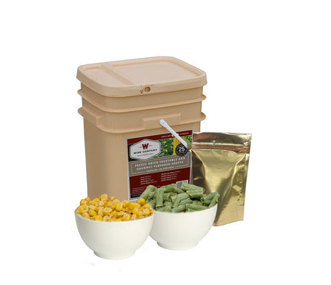 120 Serving Wise Vegetable Bucket