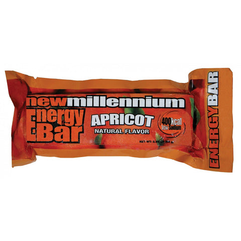 Case of 144 Apricot New Millenium Energy Food Bars