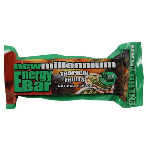 Case of 144 Tropical Fruit New Millenium Energy Food Bars