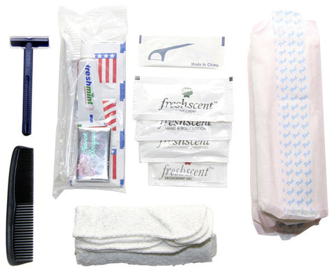 Primal Survivor Deluxe Hygiene Kit