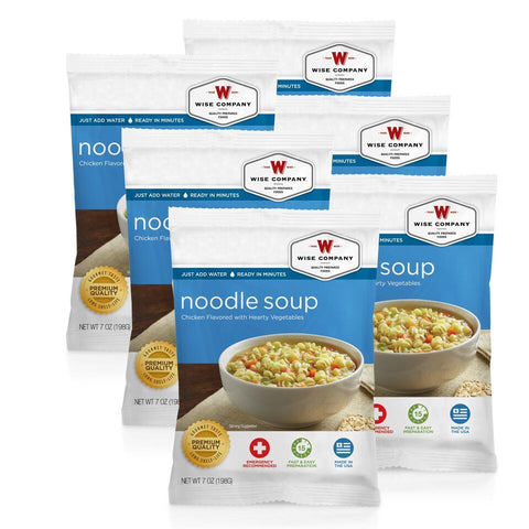 Chicken Noodle Soup Cook in the Pouch - 6 PACK