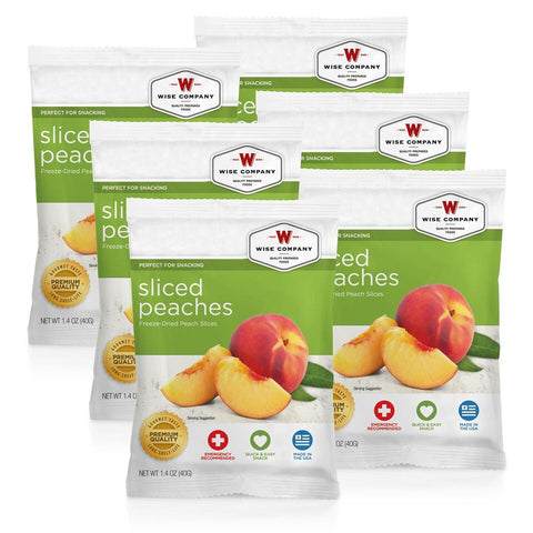 Wise Sliced Peaches - 6 Pack