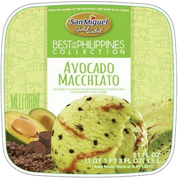 Avocado Macchiato by San Miguel Gold Label