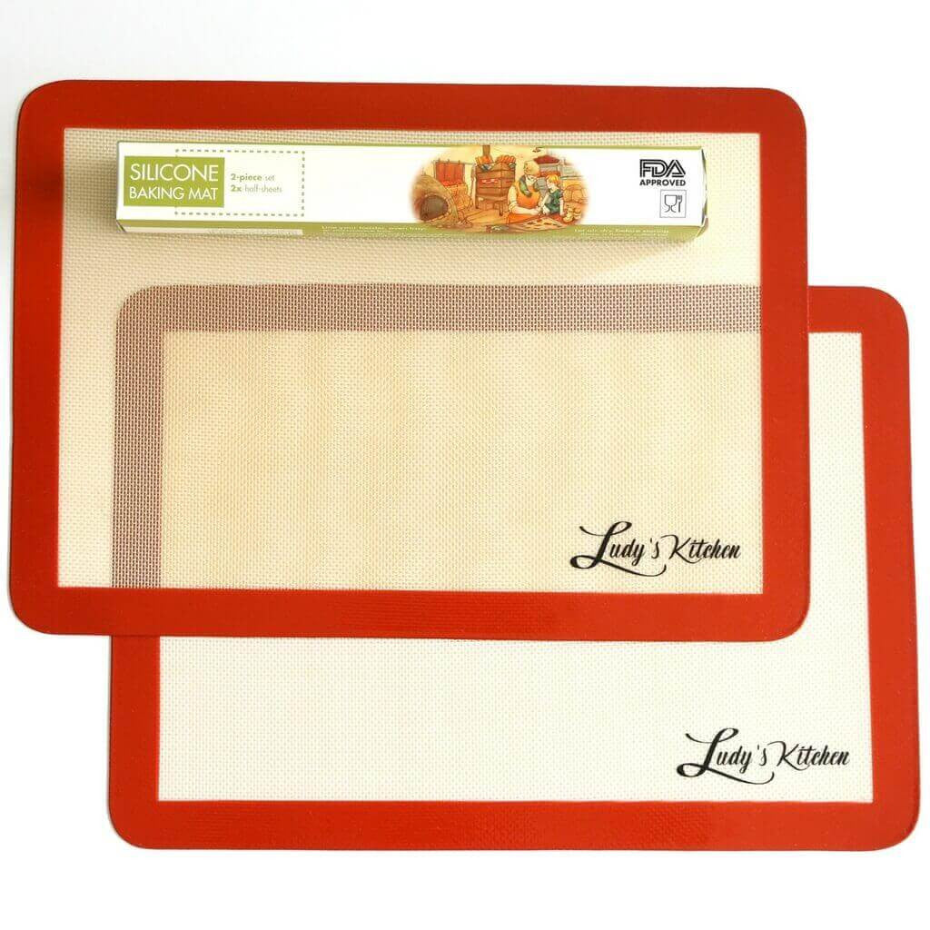 Ludy's Kitchen 2-Pc Silicone Baking Mats