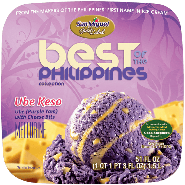 Ube Keso by San Miguel Gold Label