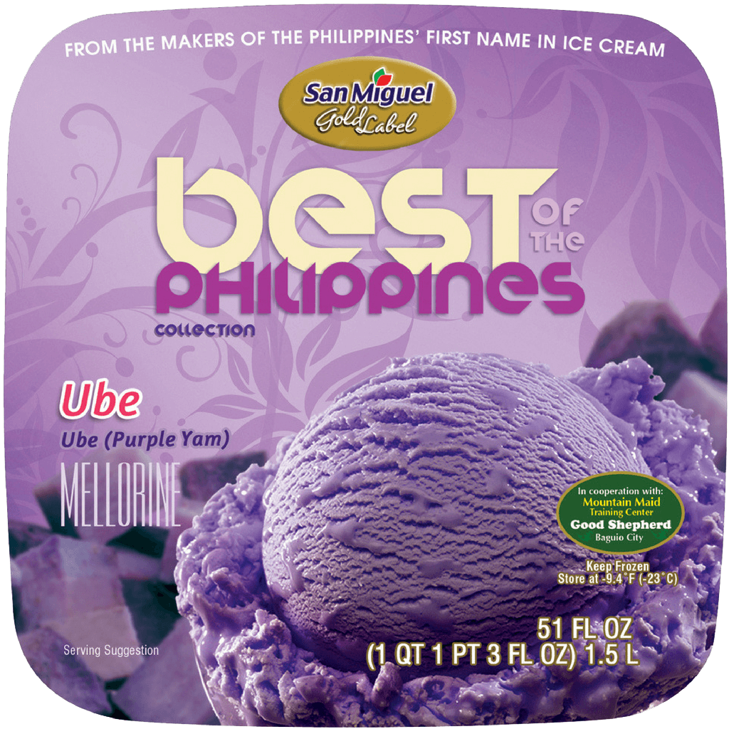Ube by San Miguel Gold Label