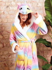 Luxurious Magical Unicorn Ombre Robe - Slumber Hut