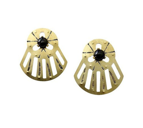 LUNASOL Designs - Horizon Post Earrings - La Lovely Vintage